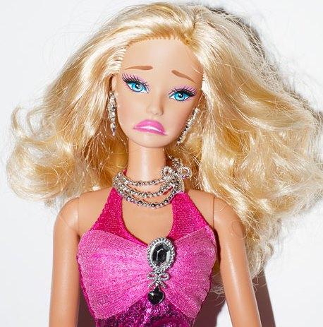 Rivisitazione della bambola Barbie
