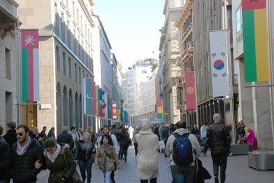 Corso Vittorio Emanuele  a Milano