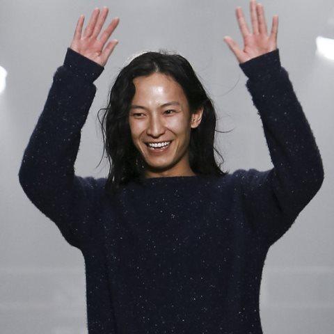 Lo stilista Alexander Wang.