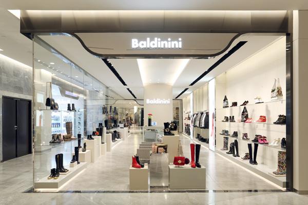 Lo store Baldinini a Beijīng
