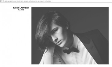 Brosnan jr posa per Saint Laurent