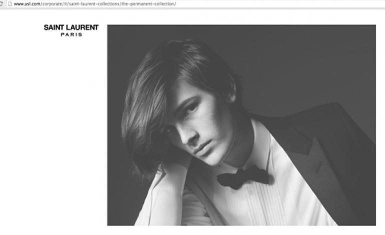 Brosnan jr posa per Saint Laurent