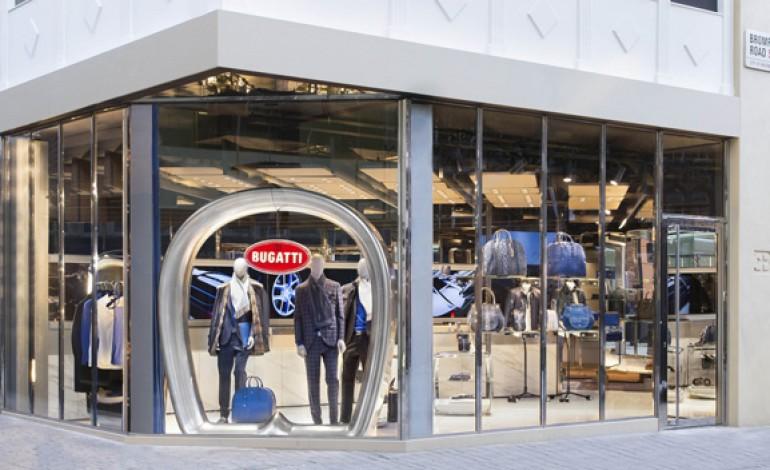 Bugatti, a Londra l'esordio nel retail moda