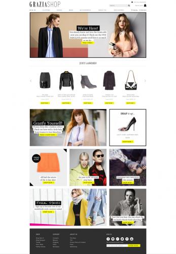 GRAZIASHOP-homepage