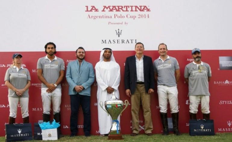 Il Maserati Centennial Polo Tour si conclude a Dubai