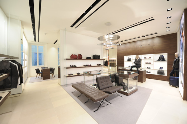 Il nuovo store a.Testoni