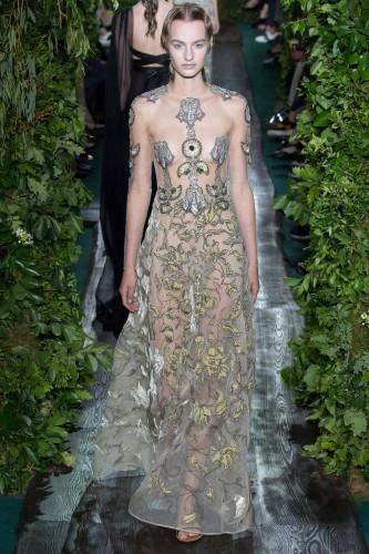 Sfilata Valentino Couture autunno-inverno 2014.