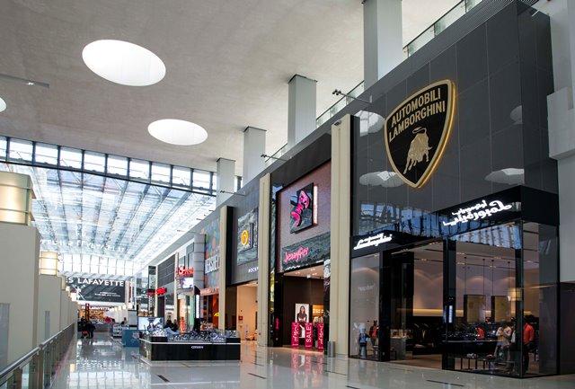 Collezione Automobili Lamborghini store al Dubai Mall