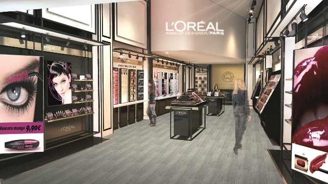 Rendering flagship L'Oréal Paris