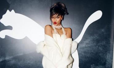 Rihanna testimonial della donna di Puma