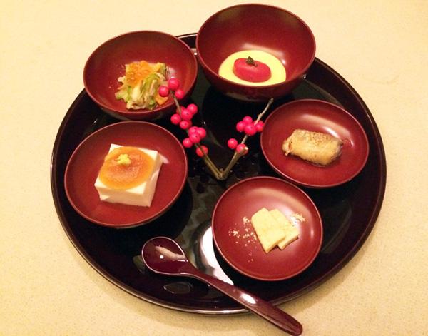 Uno dei piatti di Yazawa
