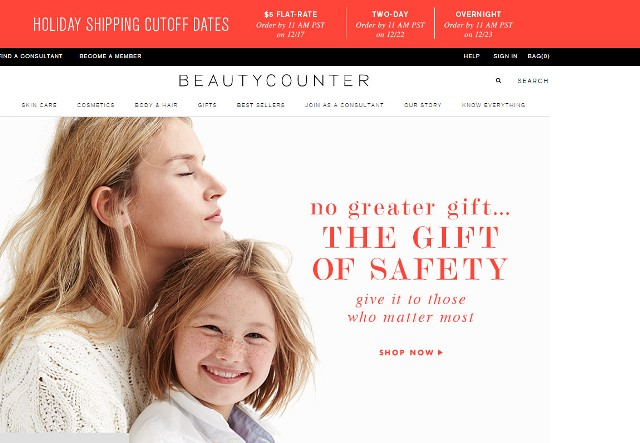 Home page beautycounter.com