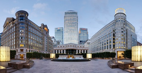 Il Canary Wharf District di Londra
