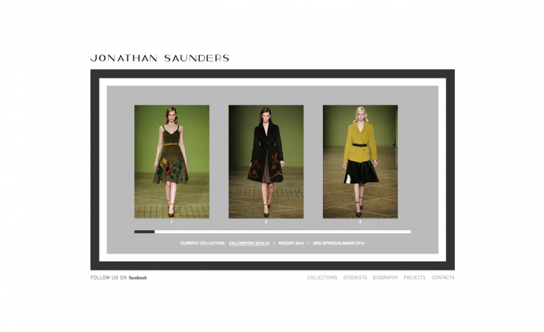 Pasricha investe in Jonathan Saunders