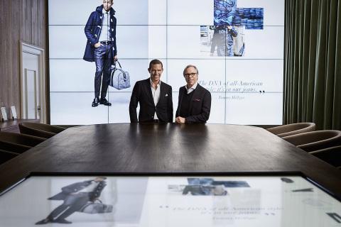 Tommy-Hilfiger-and-Daniel-Grieder-in-the-Digital-Showroom