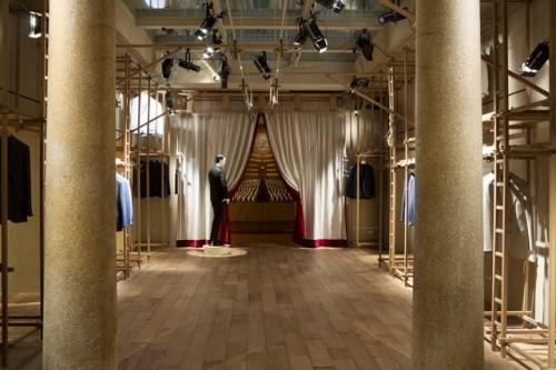 Flagship store Caruso Milano