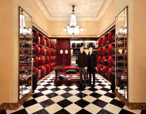 Boutique Prada in Galleria Vittorio Emanuele II