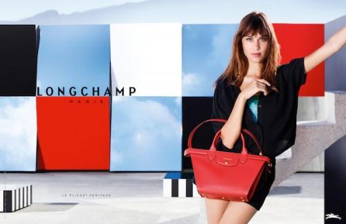 La campagna P/E 15 di Longchamp