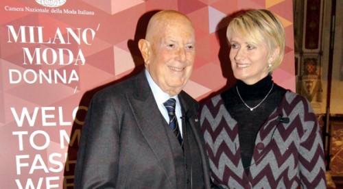 Mario Boselli e Jane Reeve