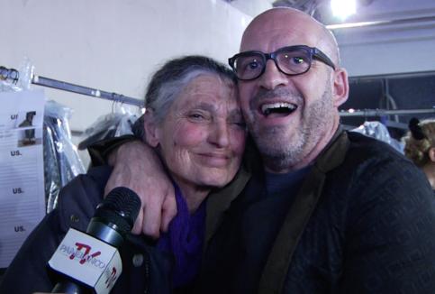 Antonio Marras e Benedetta Barzini.