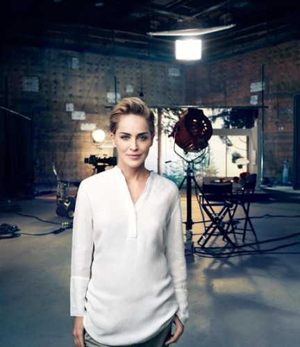 Sharon Stone - Portrait