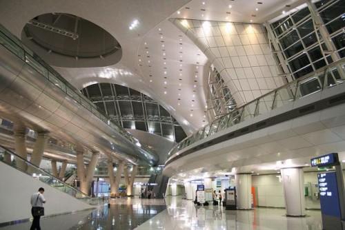 L'aeroporto Incheon in Corea del Sud
