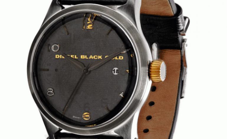 Diesel Black Gold lancia il primo orologio