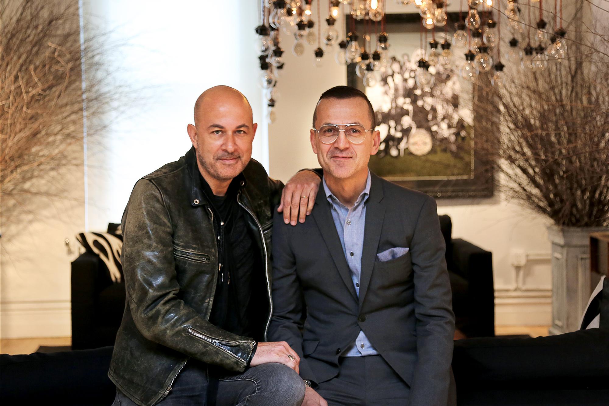 John Varvatos e Steven Kolb, numero uno del Cfda