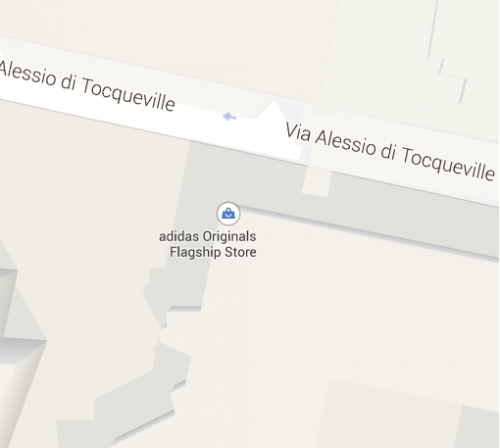 Screenshot tratto da Google Maps.