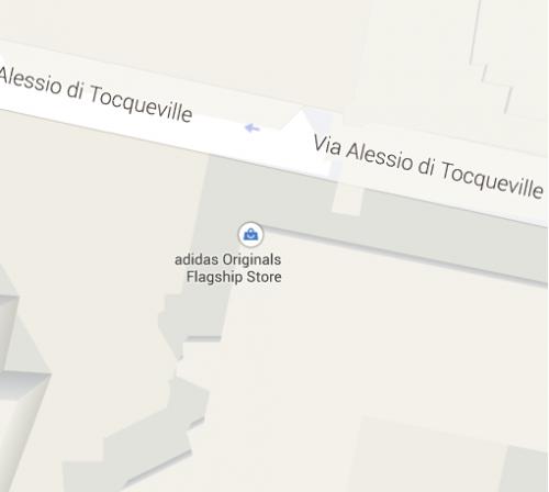 Screenshot tratto da Google Maps.