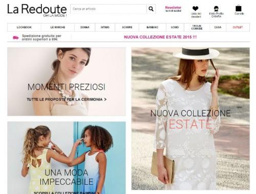 Home page La Redoute
