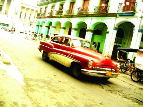 Una strada della capitale l'Avana