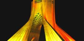 Il monumento Āzādī a Teheran