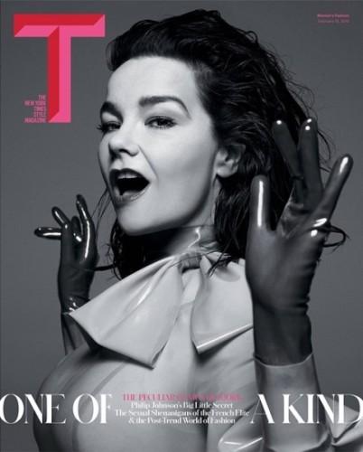 Björk sulla cover di T.