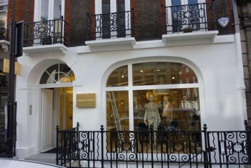 Fabiana Filippi, Londra
