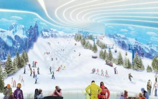 American Dream Miami - Pista da sci da circa 240 metri di altezza
