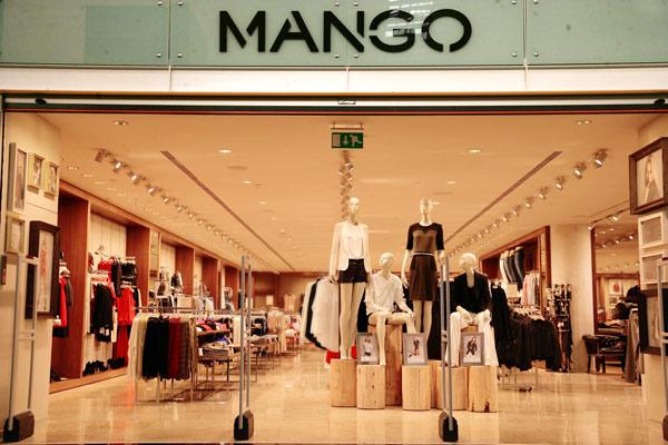 Uno store Mango