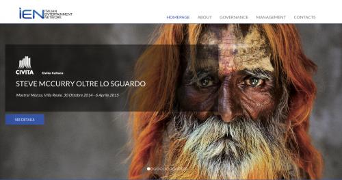 Homepage di Ien