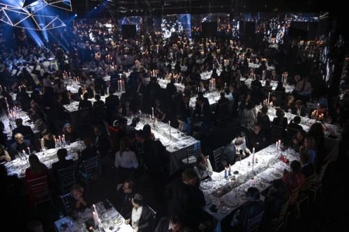 La cena di gala per il 120° anniversario di Swarovski