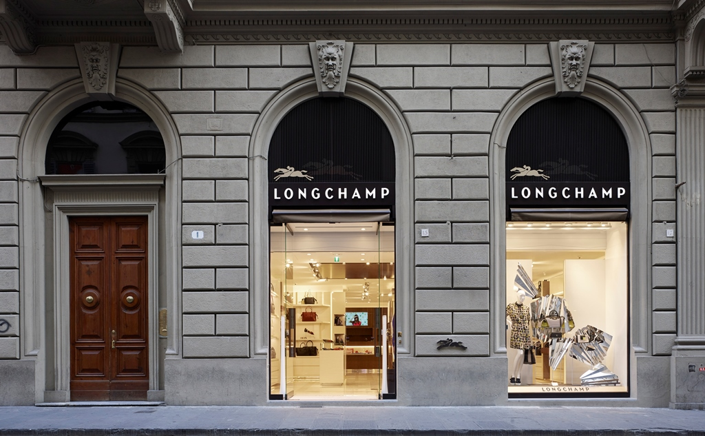 Longchamp Negozi