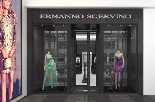 Lo store Ermanno Scervino a Miami.