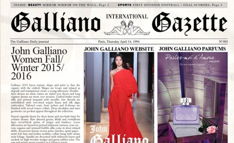 Restyling John Galliano. Licenza a Modalis
