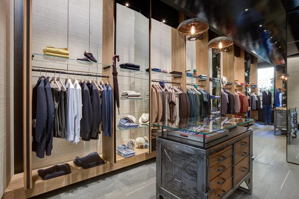Luciano barbera flagship e showroom tra milano e ny for Piani di costruzione del negozio