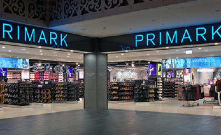 Primark, vendite in crescita dell'8%