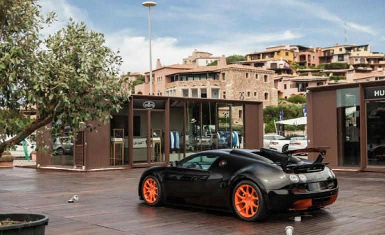 Bugatti: pop-up store a Porto Cervo