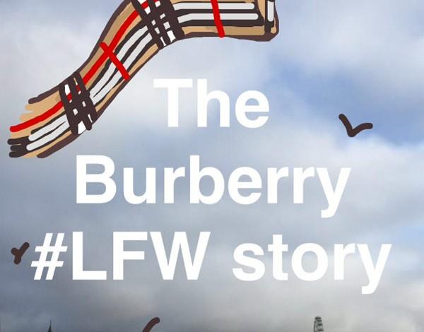 Burberry sfilerà prima su Snapchat