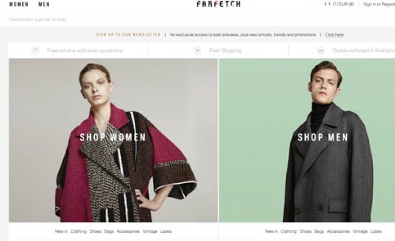 Farfetch farà anche siti conto/terzi