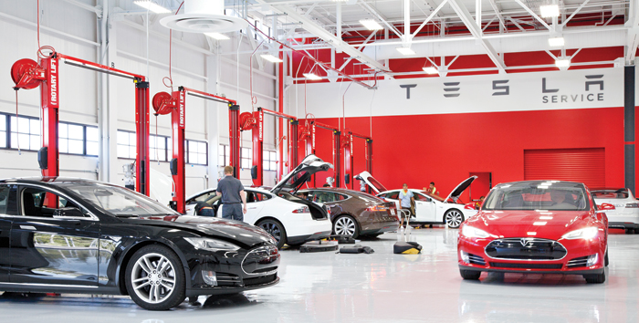 Il Tesla Service.
