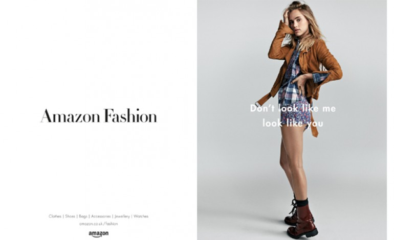 Suki Waterhouse volto di Amazon Moda