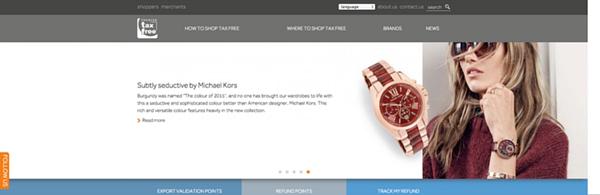 1PTF website re-design Pambianco Oct